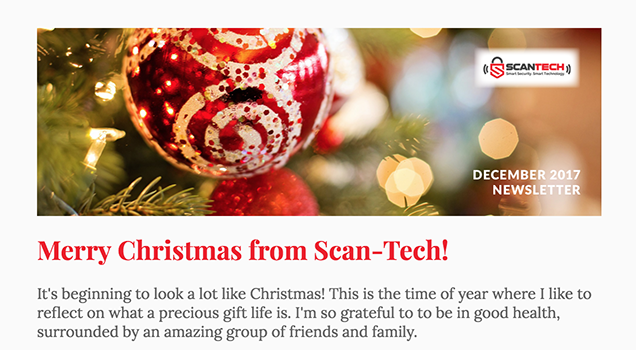 merry christmas from scan tech